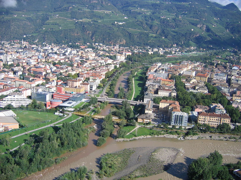 Bolzano Talferbrücke.fotoLuigino