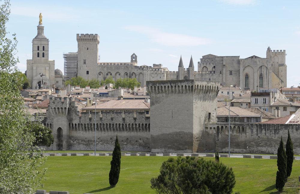 Avignon. påvepalatset