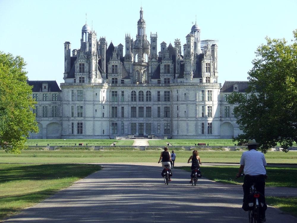 slottet i chambord. foto lvt.