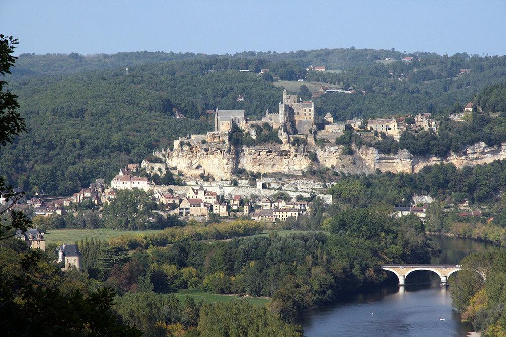 beynac slottet. foto Sémhur