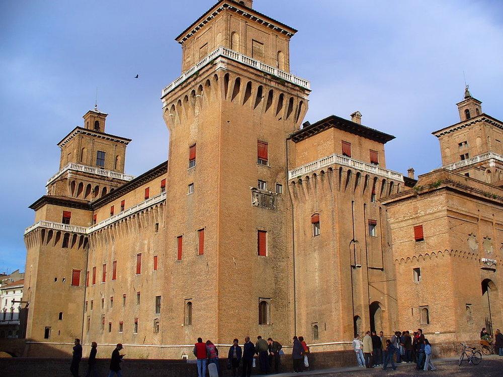 Ferrara, Castello Estense. foto sarapappa