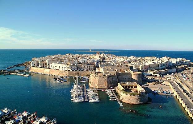 Gallipoli, Gamla stadsdelen. foto Colar