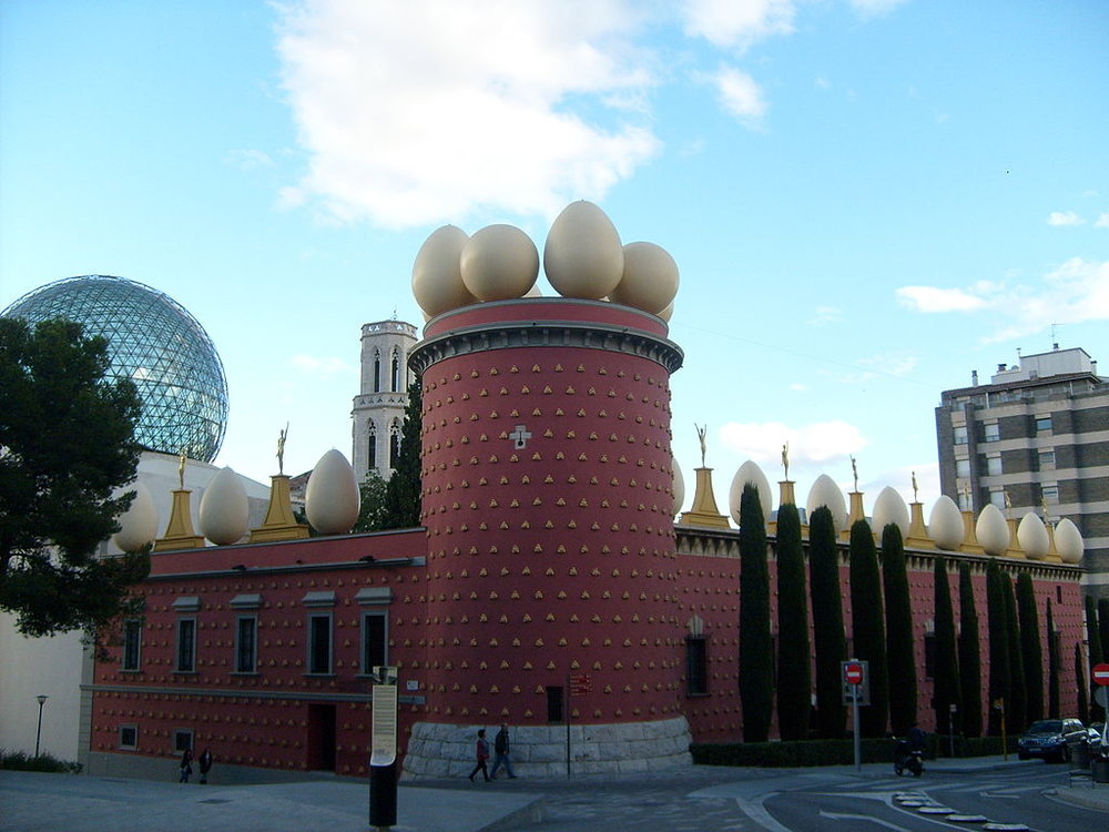 Figueres Dali muséet. foto Erin Silversmith