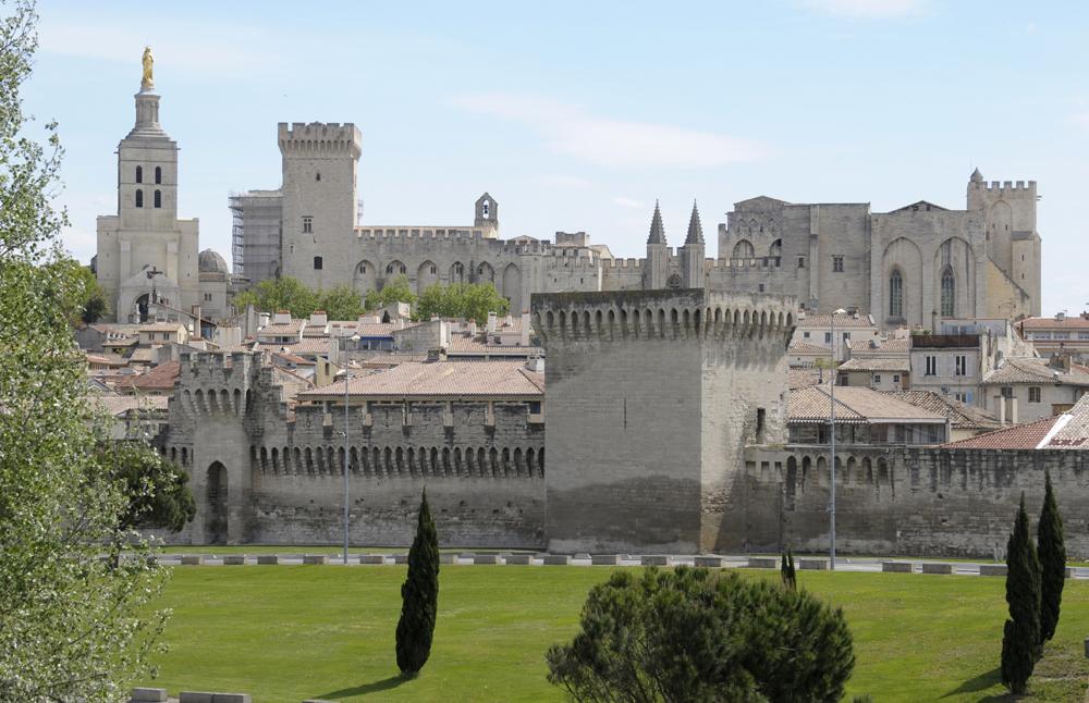 Avignon, påvepalatset.