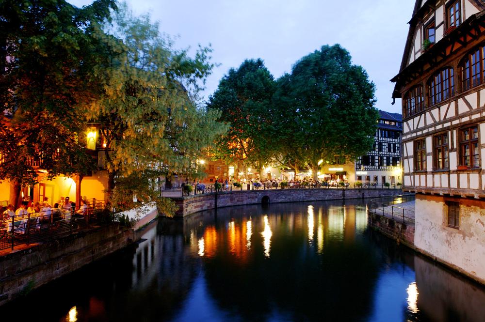 Strasbourg, la petite france. foto espace randonnée