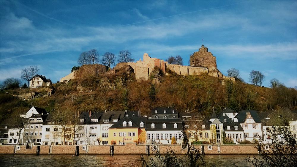 slottet i sarrebourg. foto espace randonnée
