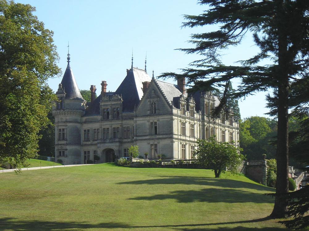 chateau de la bourdaisiere. foto ManuD
