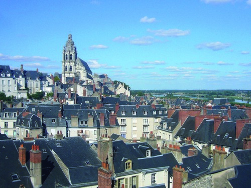 blois, katedralen Saint Louis.