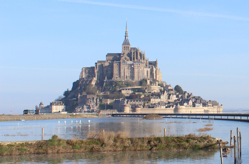le Mont Saint Michel foto Mathias Neveling.