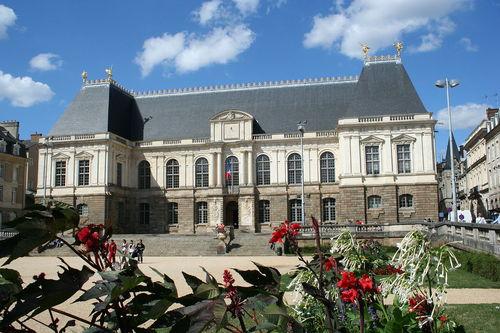 rennes, parlement de bretagne. Foto Jean lenavetier