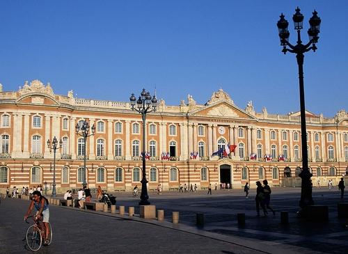 Toulouse. le capitole, stadshuset