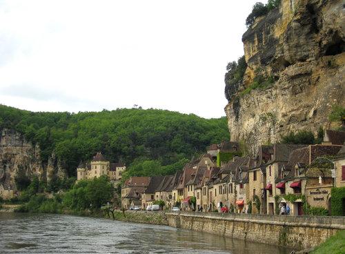 la Roque gageac. foto M. Heyde