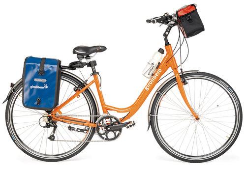 Den vanligaste cykeltypen