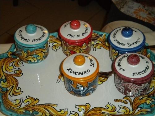 keramik från Caltagirone.