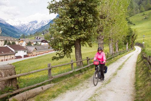 cykelväg Innsbruck-Verona foto svend-aage-madsen