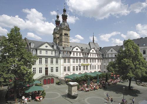 Koblenz, am plan