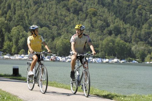 cyklister vid schlögenringen