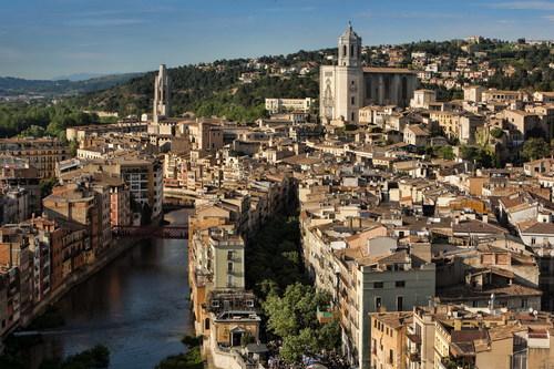Girona. foto Patronat de Turisme Costa Brava Pirineu de Girona