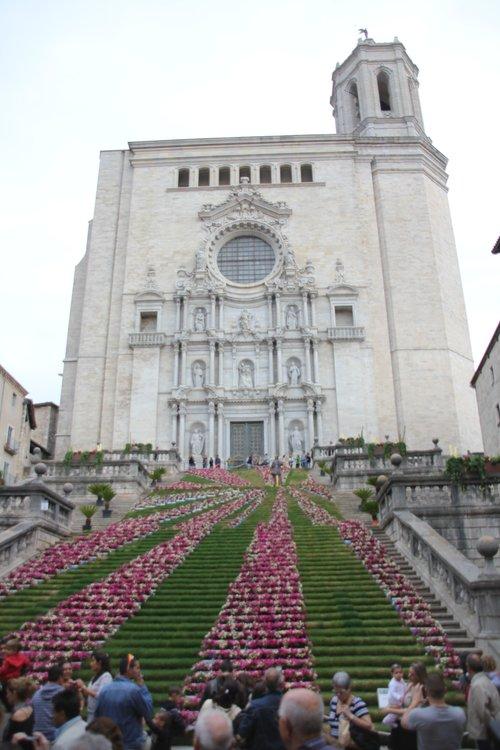 katedralen i girona. foto Arnaugir