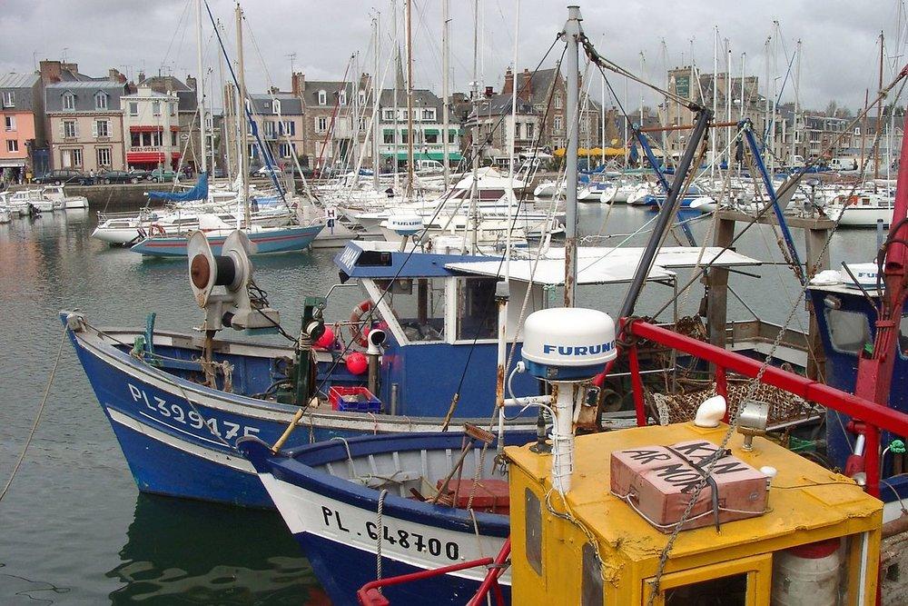 Hamnen i Paimpol. foto Brieg