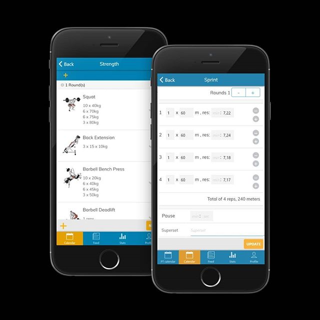 New features out! Register results and progression planning for more types of exercises 🏃‍♂️🏋️‍♀️🥇 (basic, interval, jump, sprint and  strength) - want to check it out? Link in bio. . What´s special about ALTINA? . ALTINA can be used for all sports and exercise - NOT just strength training. . All data is in numbers and can be analyzed. . Advanced planning on web-client, simple planning and overview on app. . Athletes get workouts in app and log their workouts (training diary). . Plan for groups and register attendance. . Register results (coming in August) . And more… . ALTINA is used by coaches, personal trainers, schools and sports teams. . Start your one month free trial today! (Link in bio) . #trainingdiary #trainsmart #trainingplan #trainingprogression #performancecoaching #personaltrainers #altinalife  #trainingapp #trainingsolutions #workoutplan  #athletecoaching  #athleticcoach #injuryprevention #coachlife #coachsoftware #athleticdevelopment #performbetter #sportstraining #athleticperformance