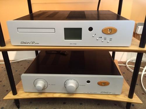 Unison Research Unico Hybrid Valve Amplifier & CD Player