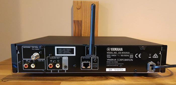 Yamaha Network Cd Player