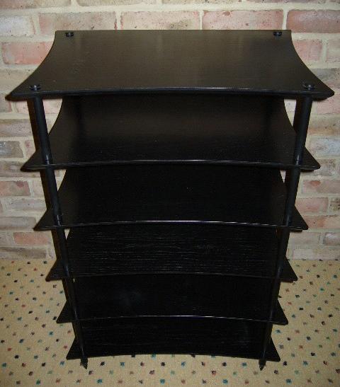 Quadraspire Q4 6 shelf stand 140mm columns £300