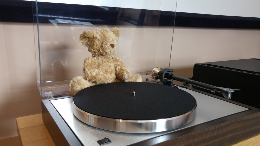 Boswell enjoys the Pro-ject Classic.