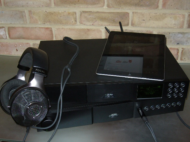 Clear Headphones with Naim NaitXS and ND5XS