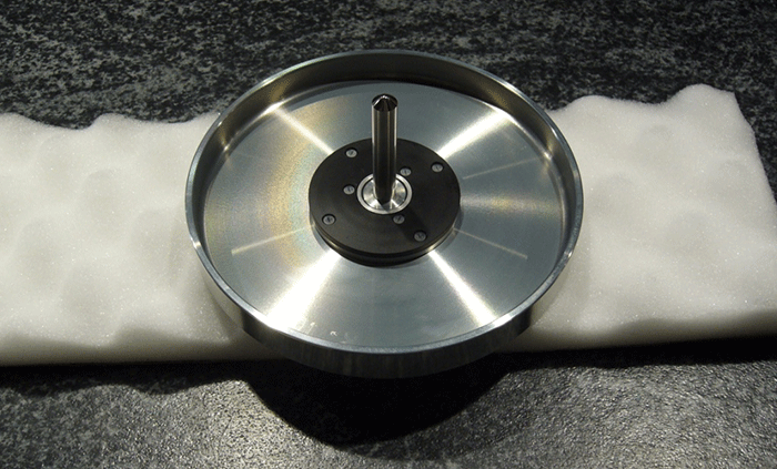 Disc 1 friction fit around  Linn LP12  inner platter