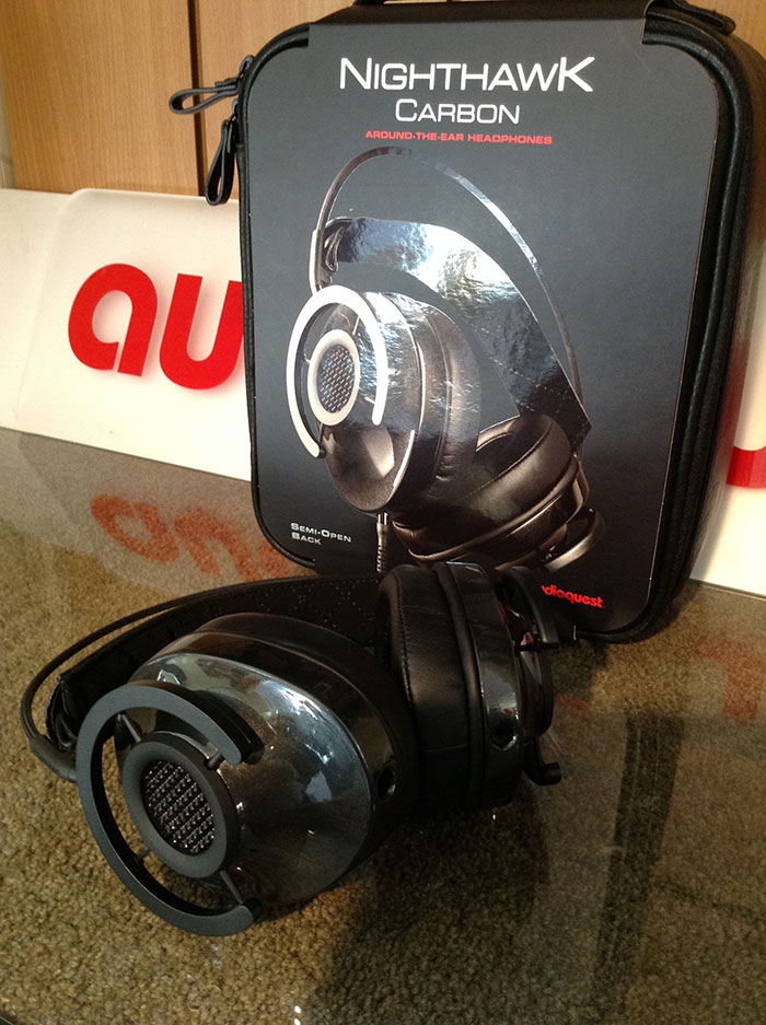 The Audioquest Nighthawk Carbon headphones are exceptionally comfortable c884b08505e7