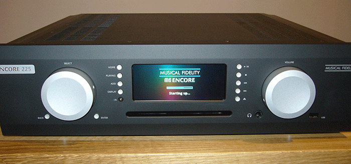 Musical Fidelity M6 Encore 225 Streaming/CD System Has