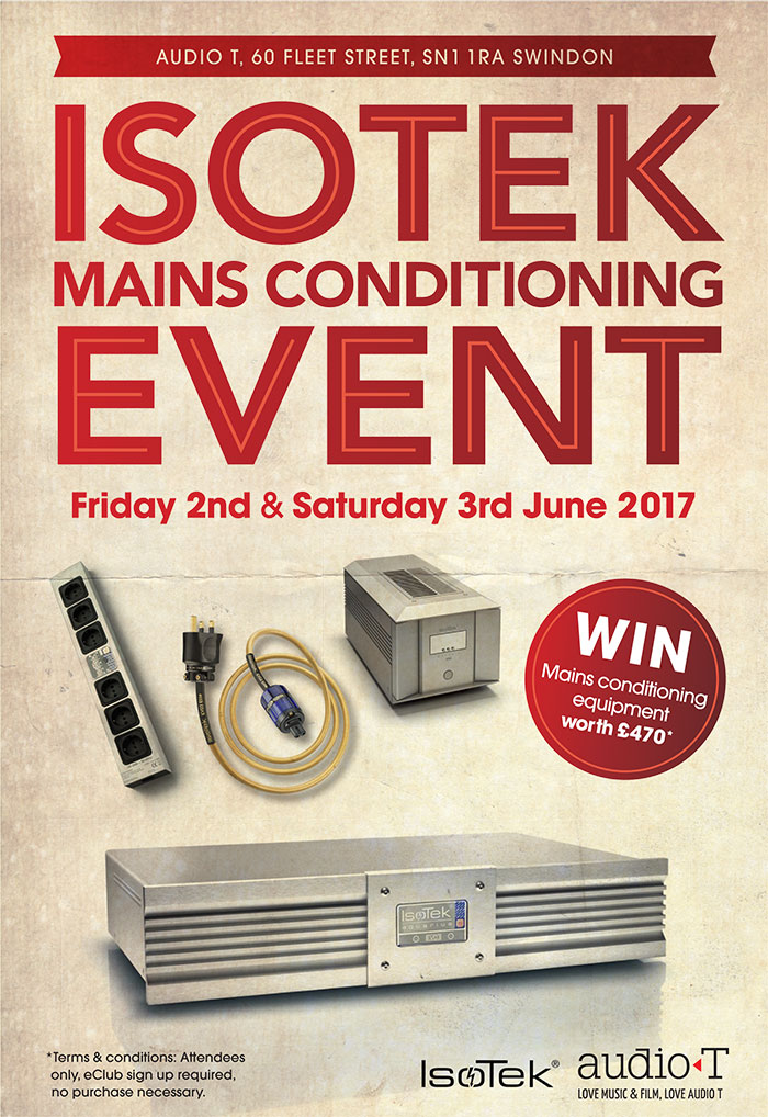 Win an IsoTek Polaris Mains Block and an Evo3 Initium Mains Cable worth £520 In Our FREE to enter competition