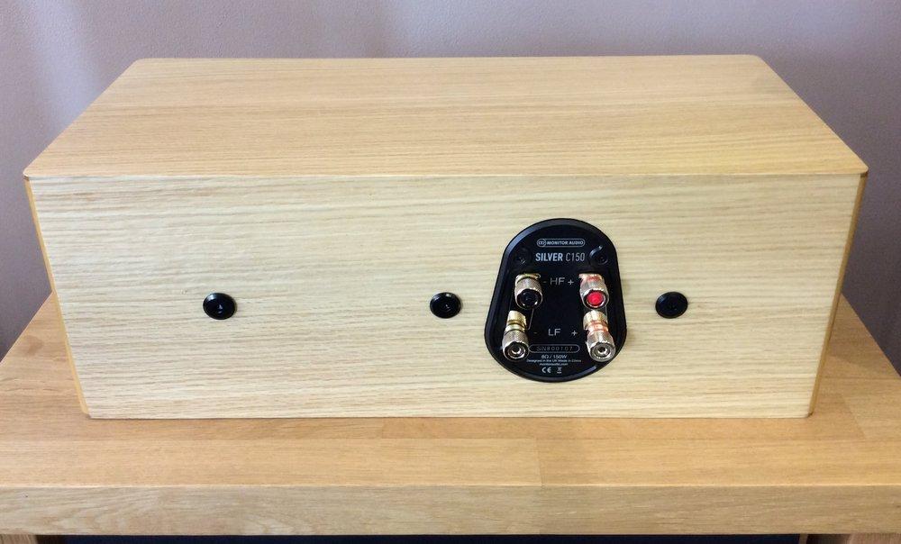 Silver C150 Centre Speaker