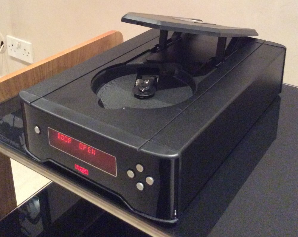 the new rega apollo cdp cd player has arrived audio t. Black Bedroom Furniture Sets. Home Design Ideas