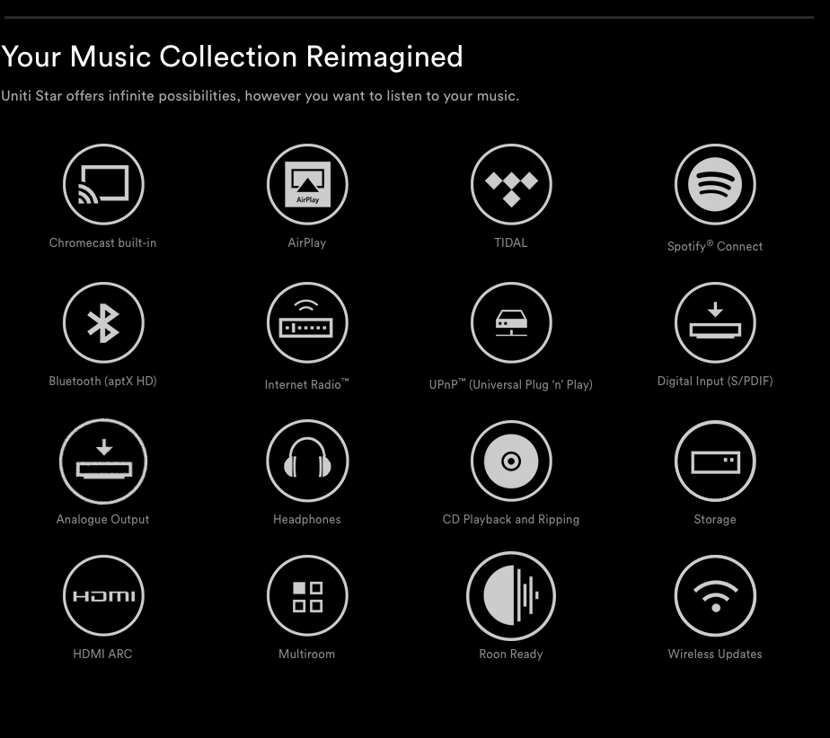 With control by the Naim iOS or Android app. your music will be at your fingertips.