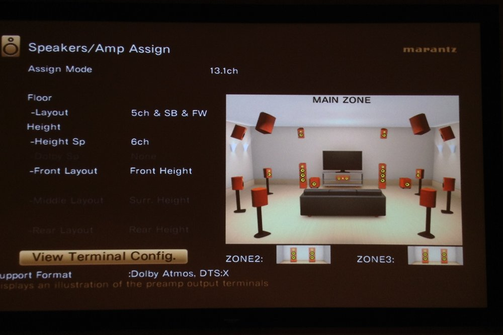 The above configuration works well with Auro 3D if you fancy a change! Just ensure you have a very understanding partner when you put all the speakers in the room......