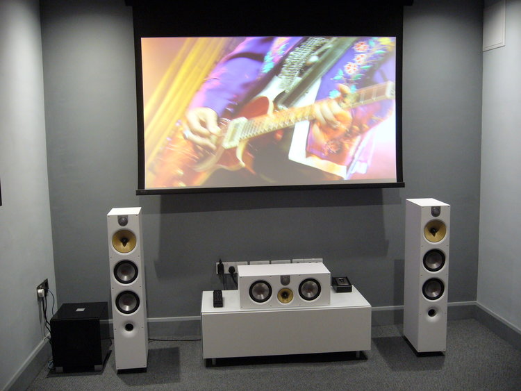 Automated Home Cinema Demonstration Room At Audio T Brighton — Audio T