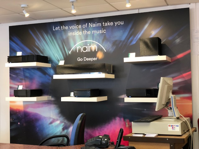 New Naim Uniti / Muso wall