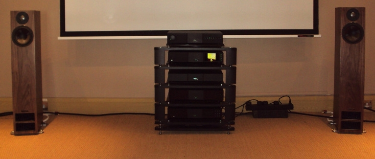 Naim System with PMC Twenty5 24 speakers