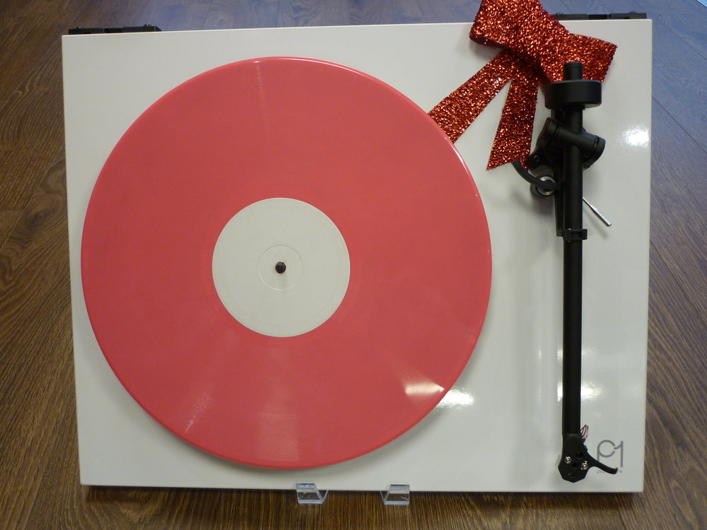 NOT SUPPLIED WITH PINK VINYL.