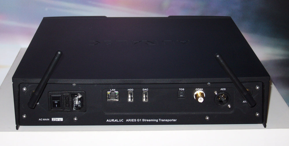 AURALiC Aries G1 Rear View