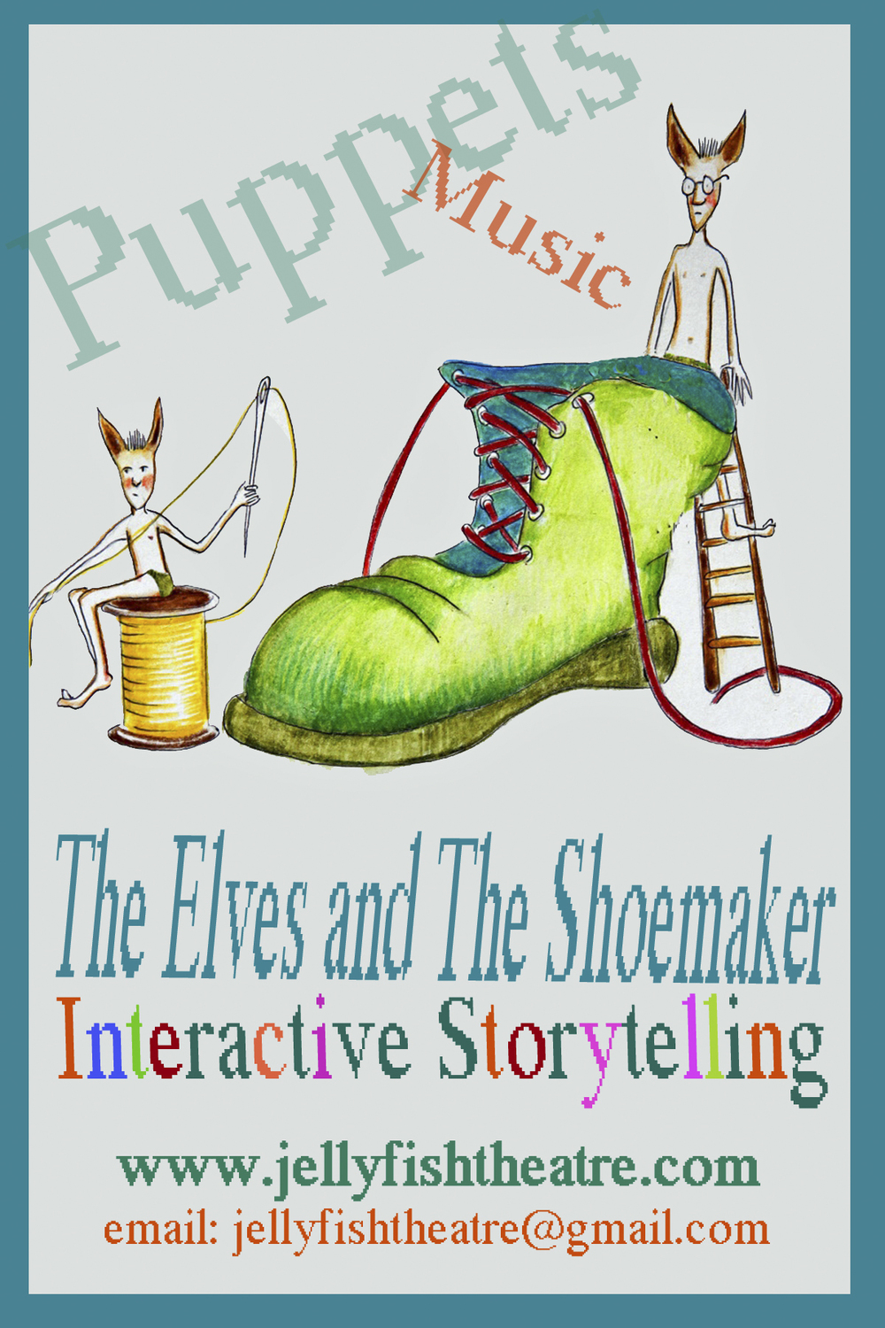 The Elves and The Shoemaker by Robert Patterson for Jellyfish Theatre