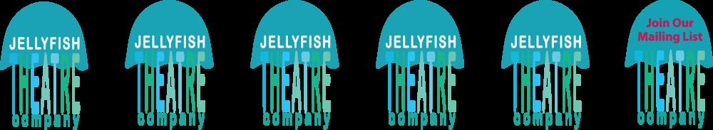 Jellyfish Theatre Logo Strip by 100Designs