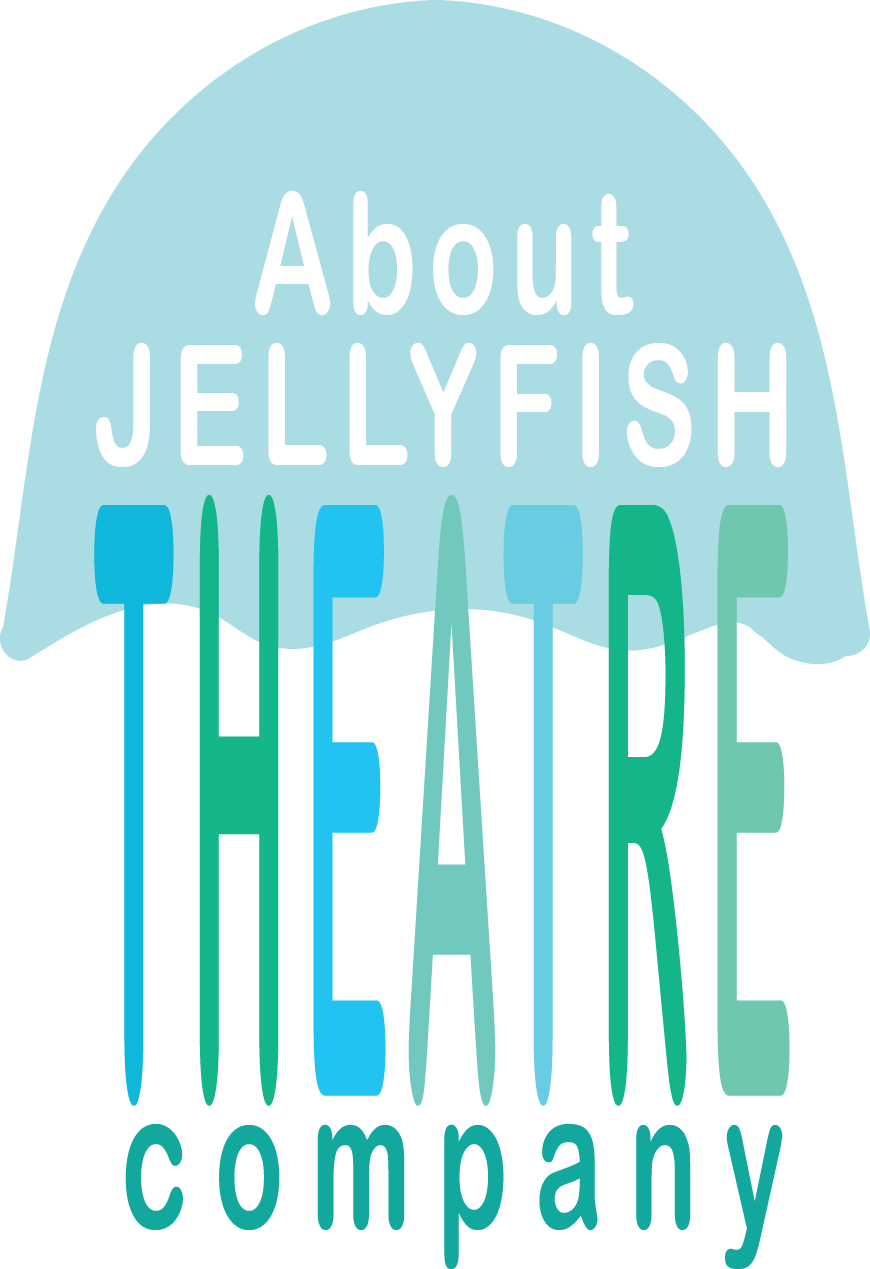 About Jellyfish Theatre Company button on website by 100Designs