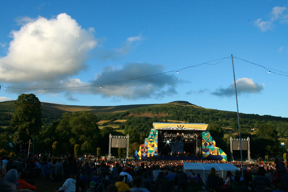 The Green Man festival at Glanusk Park has the most beautiful setting.