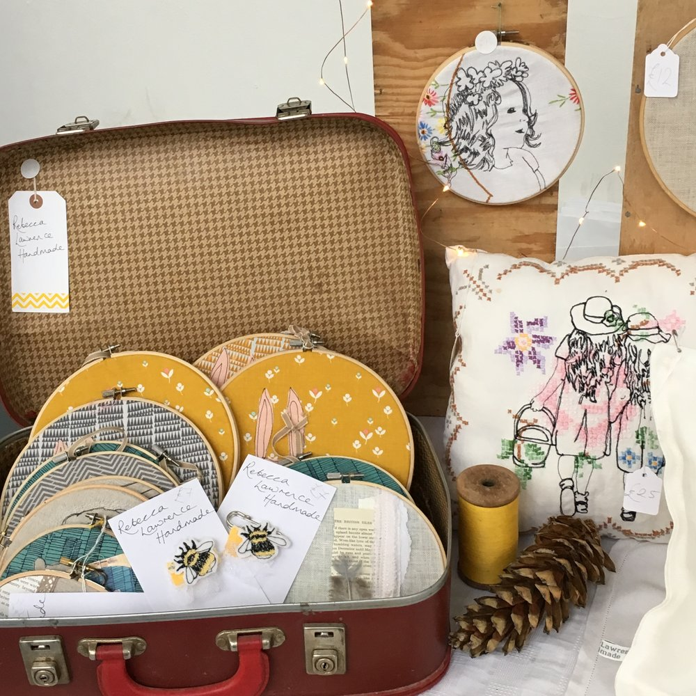 I love styling my stalls at craft fairs and am often complemented on how it looks.   -