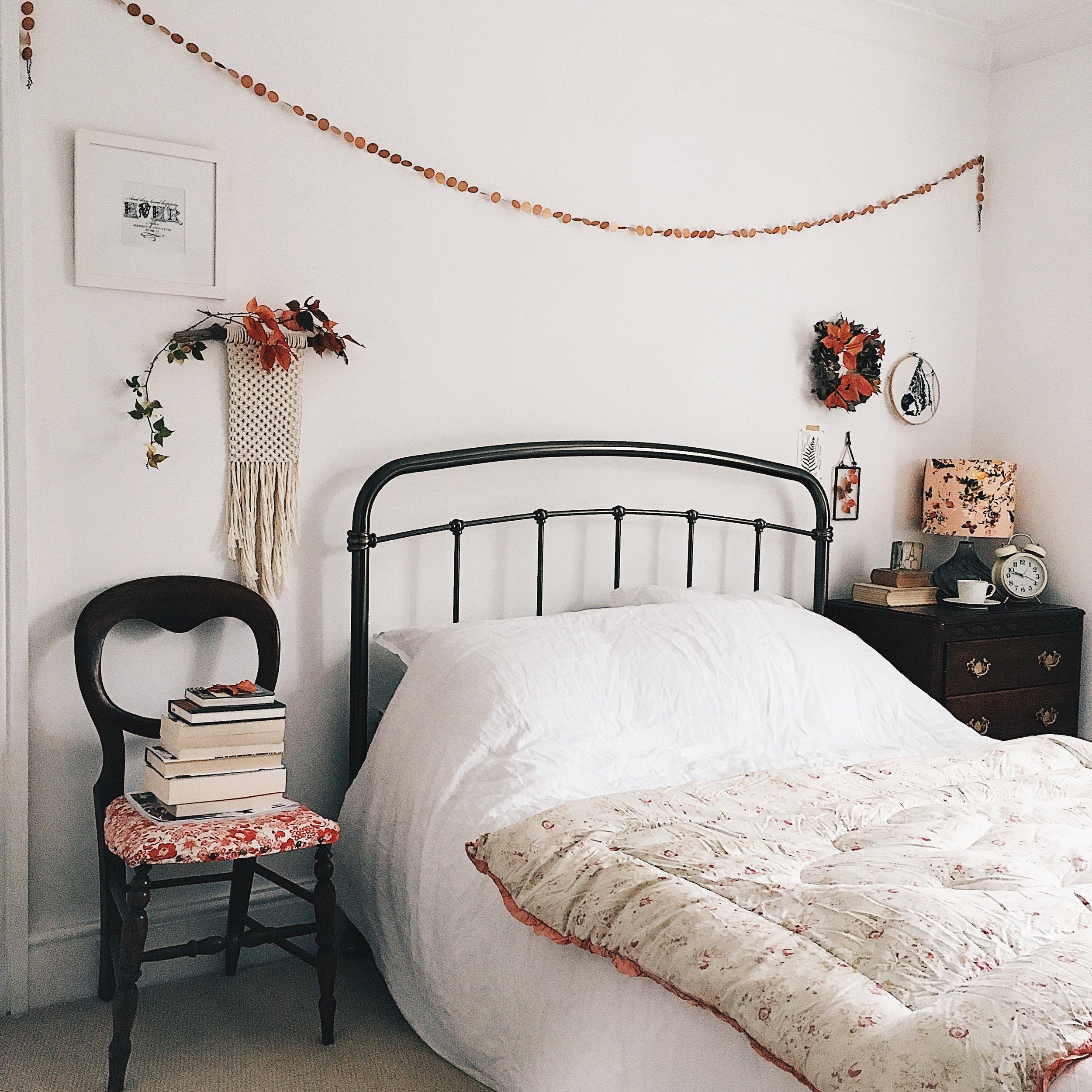 Ivy Cottage Renovation Bedroom Oct 24 Ivy