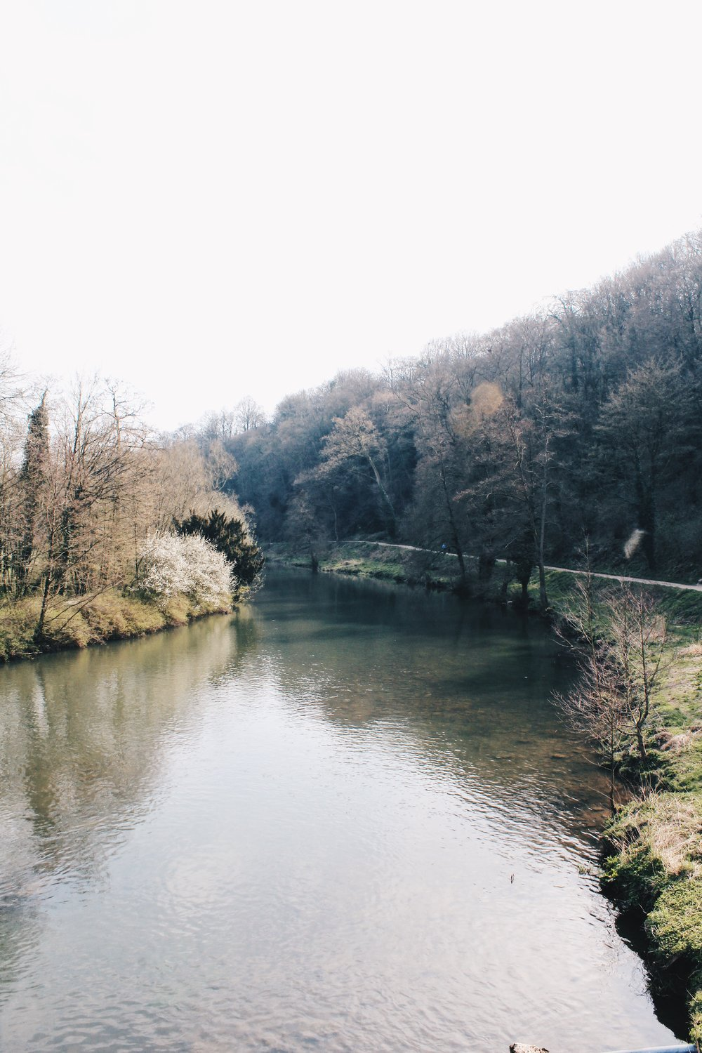 The tranquil view of the river Teme. You could be anywhere. It's such a lovely walk.